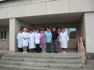 Коллектив гляденской участковой больницы