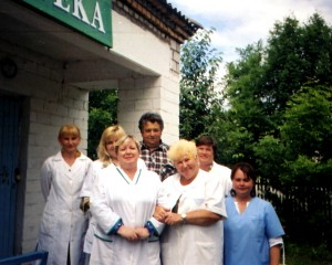 Коллектив дороховской врачебной амбулатории