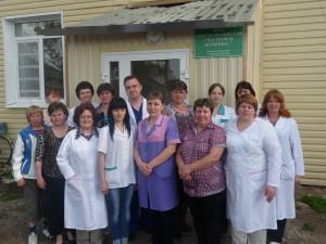 Коллектив краснополянской участковой больницы