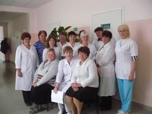 Коллектив красносопкинской участковой больницы